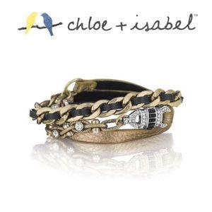 🆕 Deco Leather Wrap Bracelet c+i B234BZ